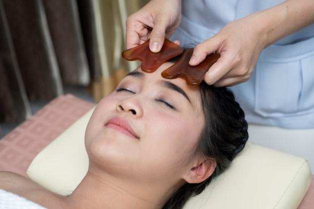 Masaje para tonificar el rostro