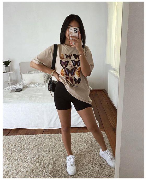 Maxi blusas con tenis