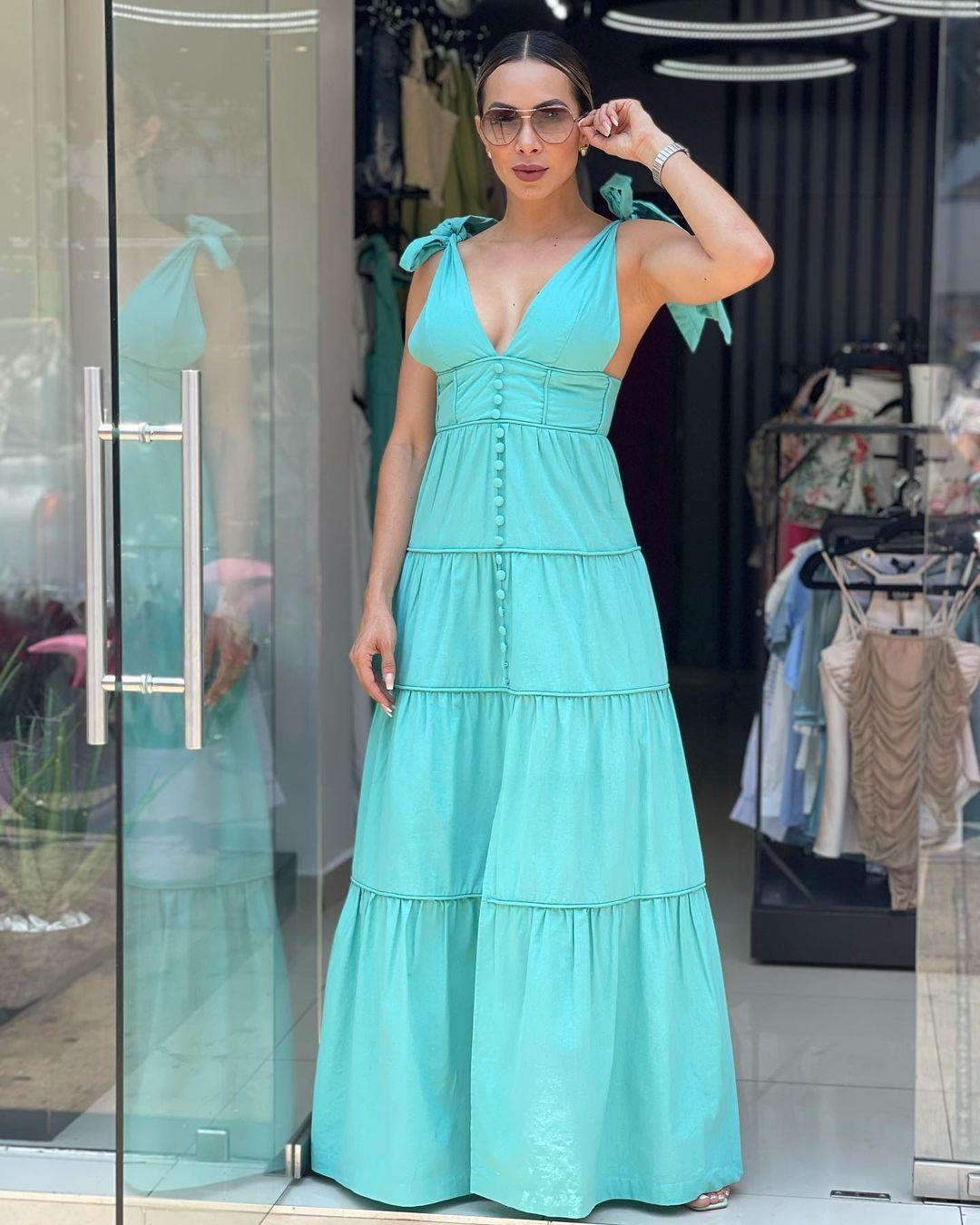 Maxi vestidos para señoras de 40 años o más