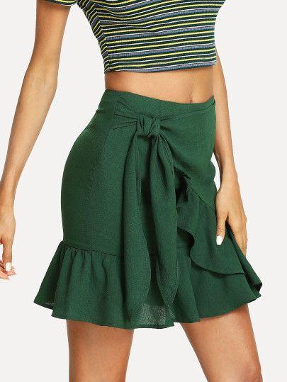 Opciones de faldas con nudo