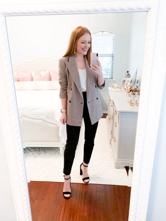 Outfits casuales con blazer