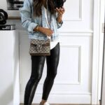 Outfits casuales con leggins negros
