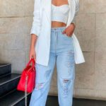 Outfits con blazer y jeans