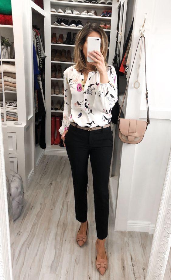 Ideas de outfits con pantalón sastre para el trabajo
