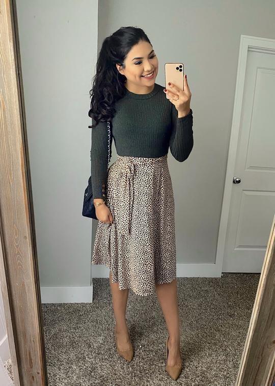 Outfits con falda para el trabajo