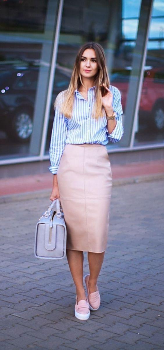 Outfits con camisa para ir a trabajar