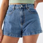 Outfits con shorts de mezclilla shein