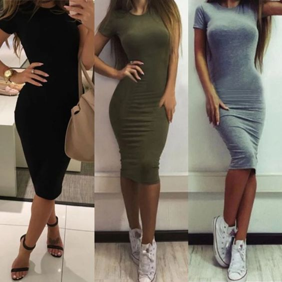 Outfits sexys con tenis