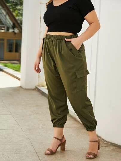 Pantalones shein tallas grandes