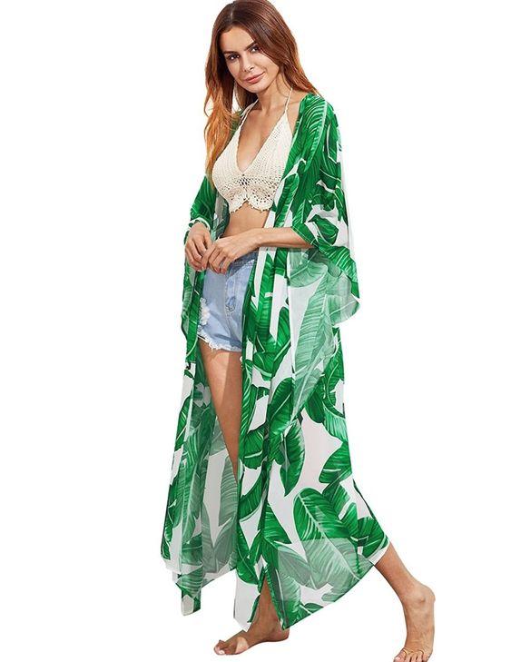 Pareos y kimonos shein para la playa