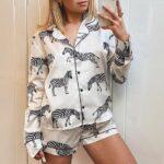 Pijamas clásicas shein