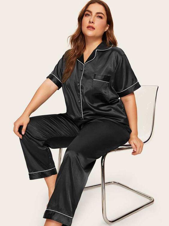 Pijamas de shein tallas grandes