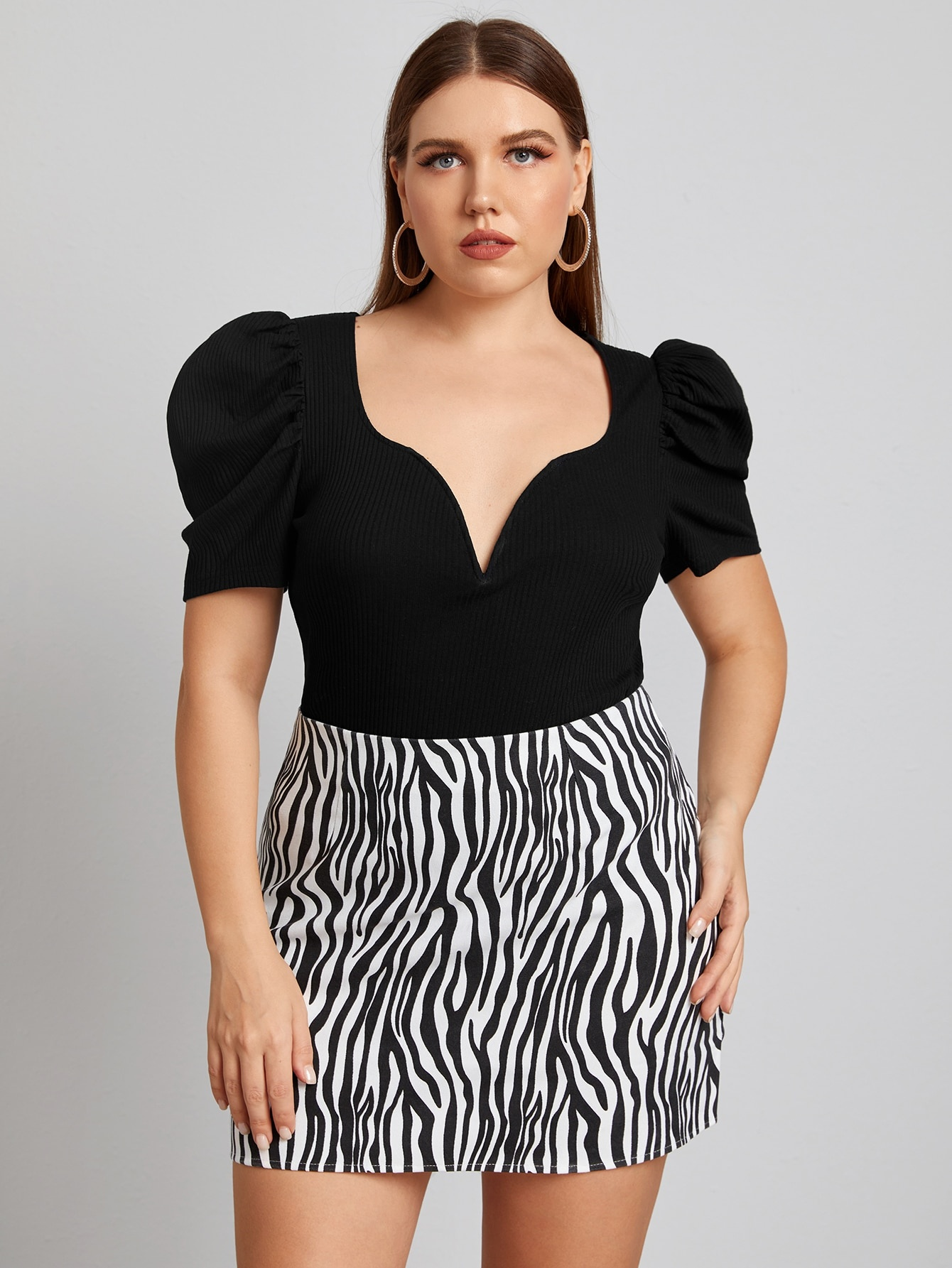 Blusas shein tallas grandes