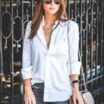 Viste con camisas blancas