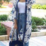 Viste con kimonos en verano