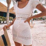 Diseños de vestidos crochet