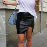 Faldas con tenis neón
