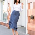 Faldas midi para el trabajo