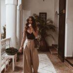Ideas de looks con pantalones holgados