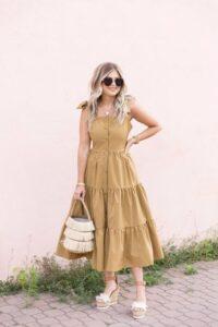 Ideas de vestidos midi por colores