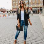 Looks informales con skinny jeans