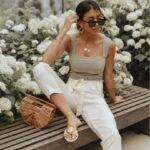 Opta por vestir en prendas de algodón o de lino
