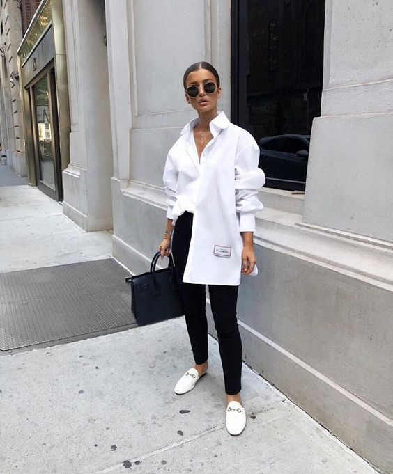 Outfits con camisa blanca