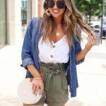 Outfits con shorts para el calor