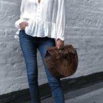Perfectos para usar blusas holgadas
