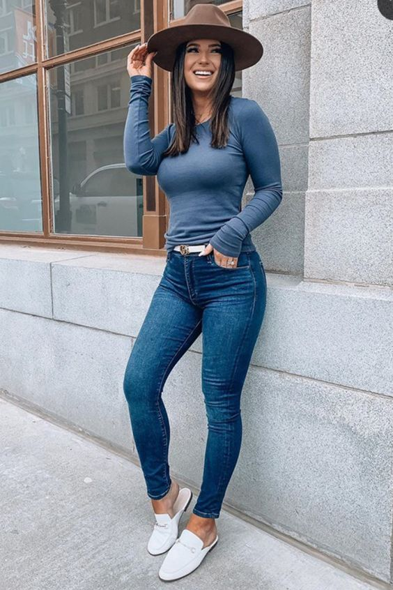 Tips de moda para usar skinny jeans