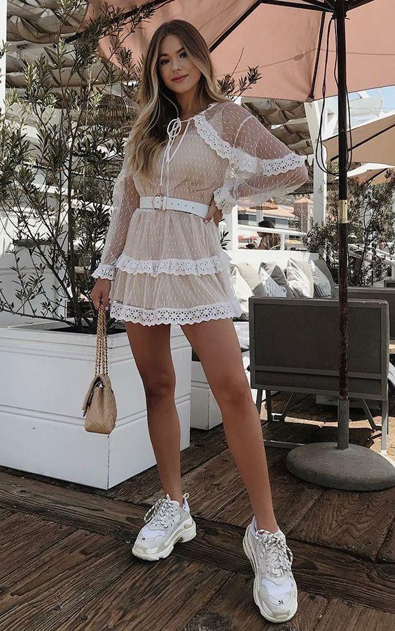 Usa un vestido fresco