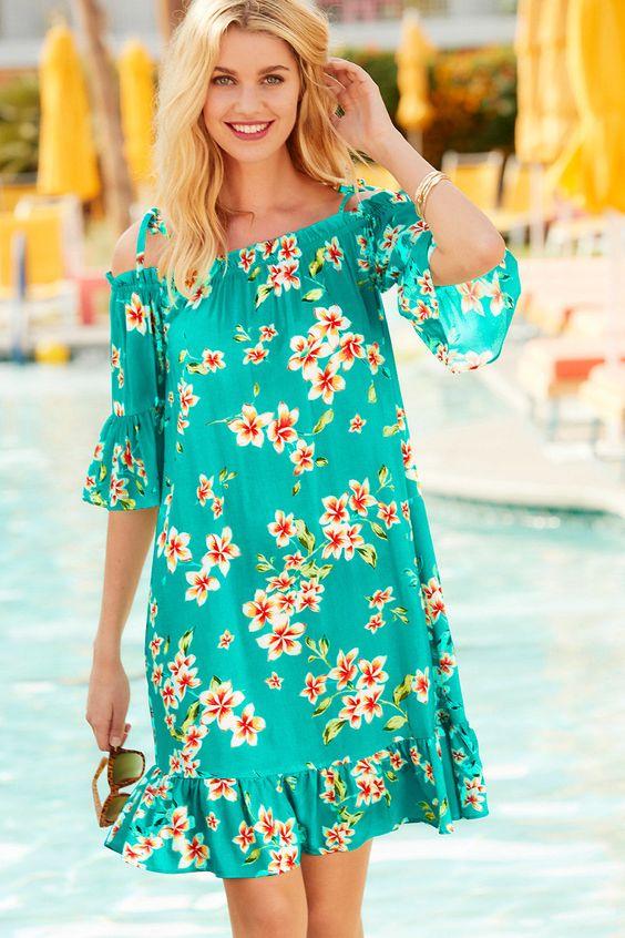 Vestidos con estampado floral