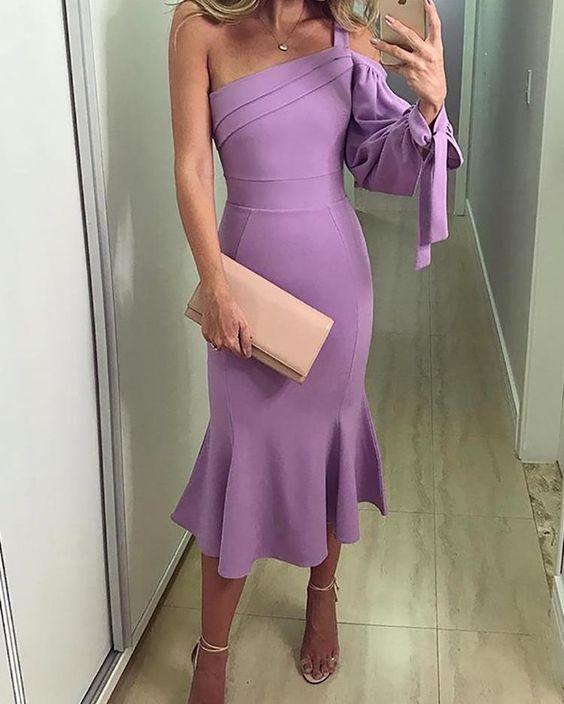Vestidos en tonos pastel