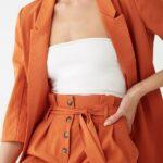 Conjuntos en color naranja para otoño
