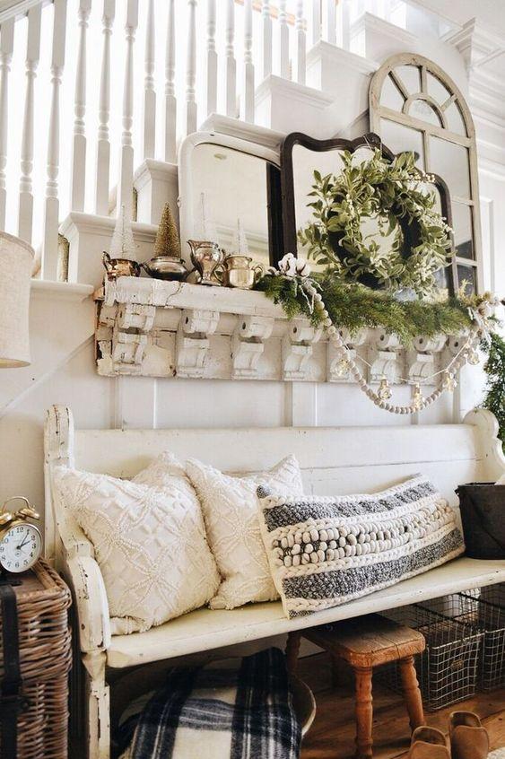 Accesorios decorativos navideños estilo french country