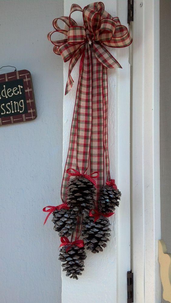 Ideas DIY para adornar tu puerta en navidad