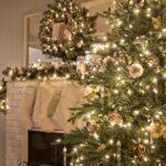 Árbol de navidad estilo french country