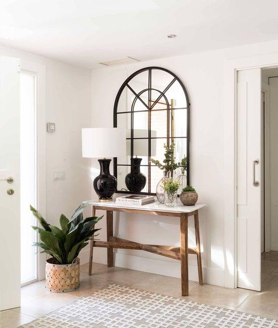 Bellas ideas para instalar un recibidor en casa