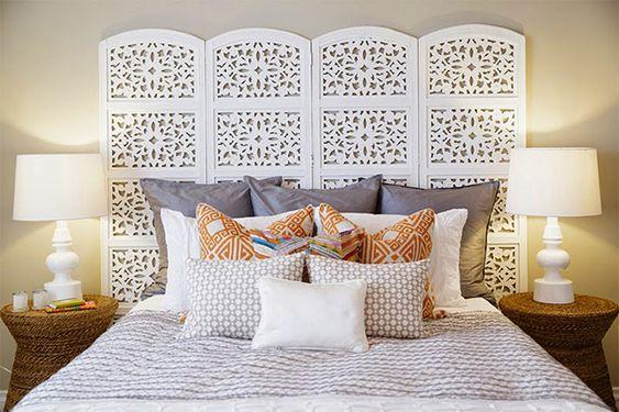 Diseños de cabeceras para dormitorios de mujer