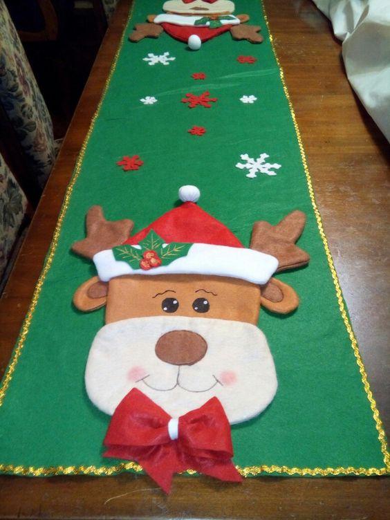 Caminos de mesa navideños