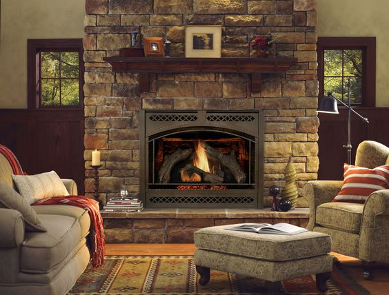 Ideas de chimeneas estilo rústico