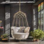 Diseños de columpios modernos para jardín