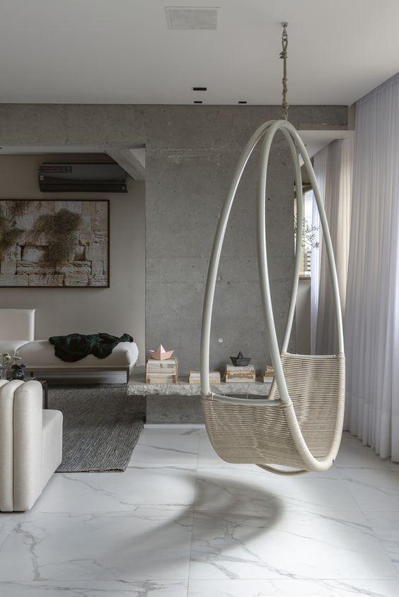 Columpios modernos que tienes que incluir en la decoración de tu hogar
