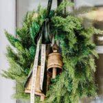 coronas navidenas color verde