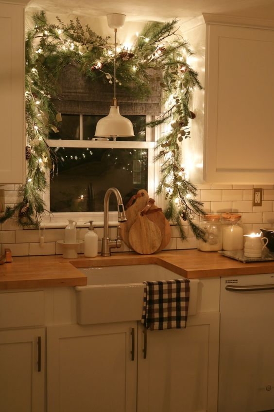 Como decorar el comedor de navidad estilo french country