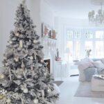 Árboles de navidad color plata