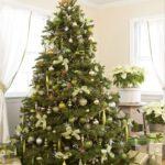 Adornos navideños color verde