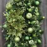 Decoración navideña color verde