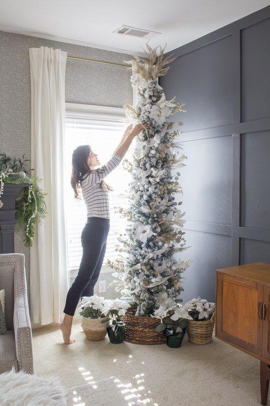 Diseños de árbol de navidad slim 2021 - 2022