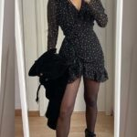 Diseños de vestidos sueltos con medias
